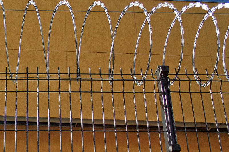 Rede laminada para muro
